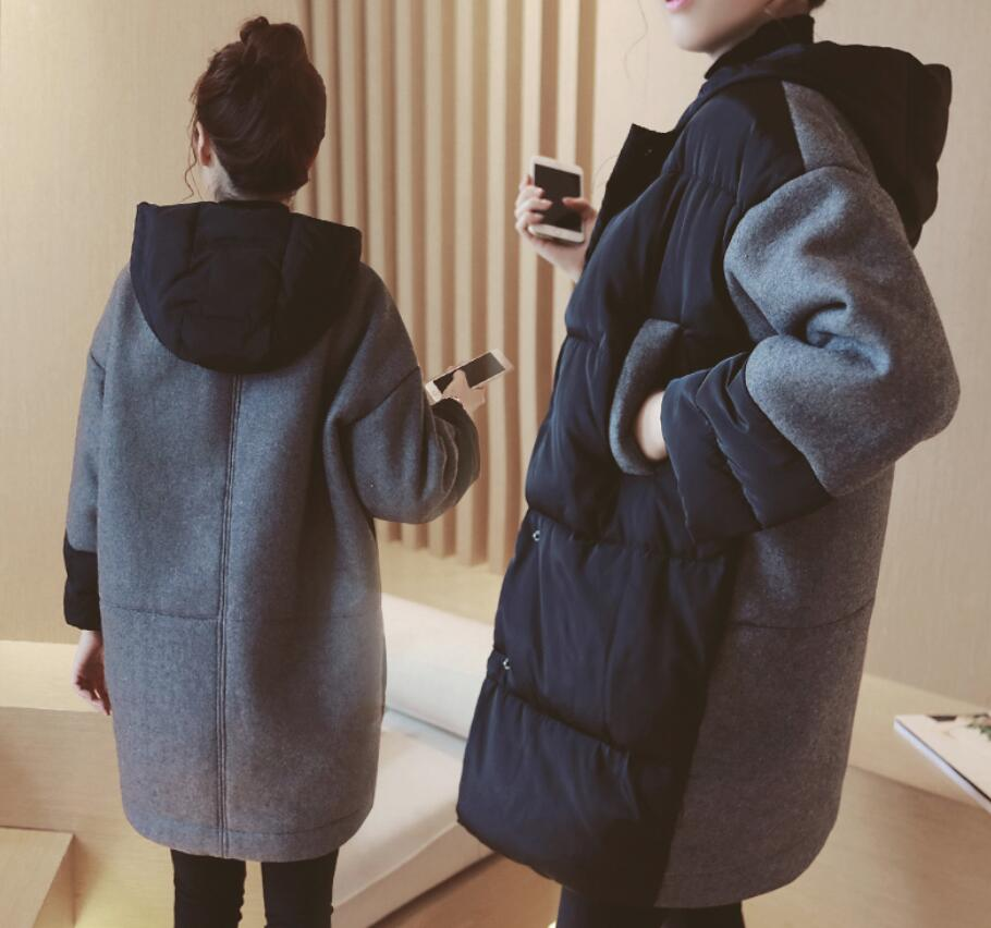 Big size S-3XL pregnancy coats winter warm jacket coat Maternity winter clothes loose pregnant women cotton outwear fashion