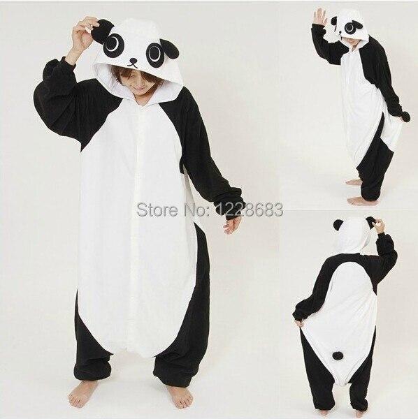 Новые пижама в виде животного для взрослых Rilakkuma кигуруми Панда Пижамы  Комбинезон для сна пижамы унисекс косплей купить на AliExpress 1cb73eec43760
