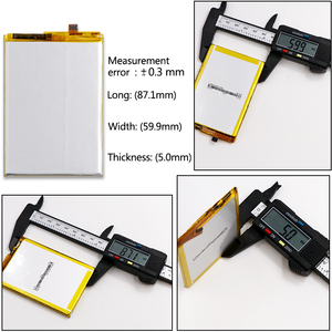 Image 5 - DyGod 5020mAh Battery MTK6753 For Vernee Thor E Battery High Quality Replacement Bateria Smart Phone For Vernee Thor E