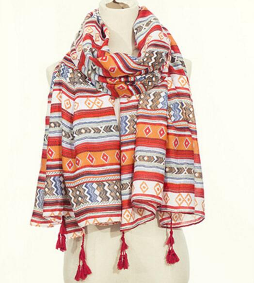 6pcs 100 180 Summer Beach Scarves Shawls Spring Fall Beautiful Women Red Scarf Wrap Brand Long Mufflers Cotton Wraps Wholesale in Women 39 s Scarves from Apparel Accessories
