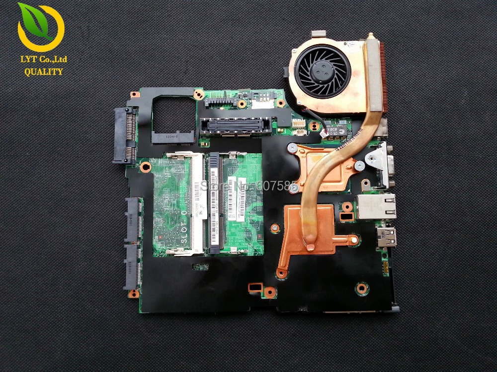 Free Shipping For Lenovo IBM X200 mainboard font b motherboard b font with P8700 Cpu Fan