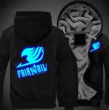 Fairy Tail Logo Luminous Jacket Sweatshirts Hoodie
