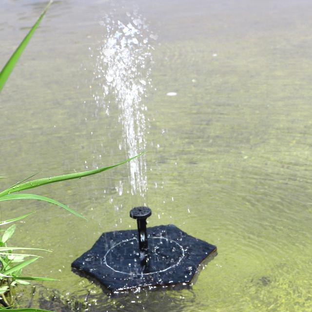 Beau Solar Power Water Fountain For Garden Floating Pump Pool Plant Watering  Device Home Garden Outdoor Decor Fountains