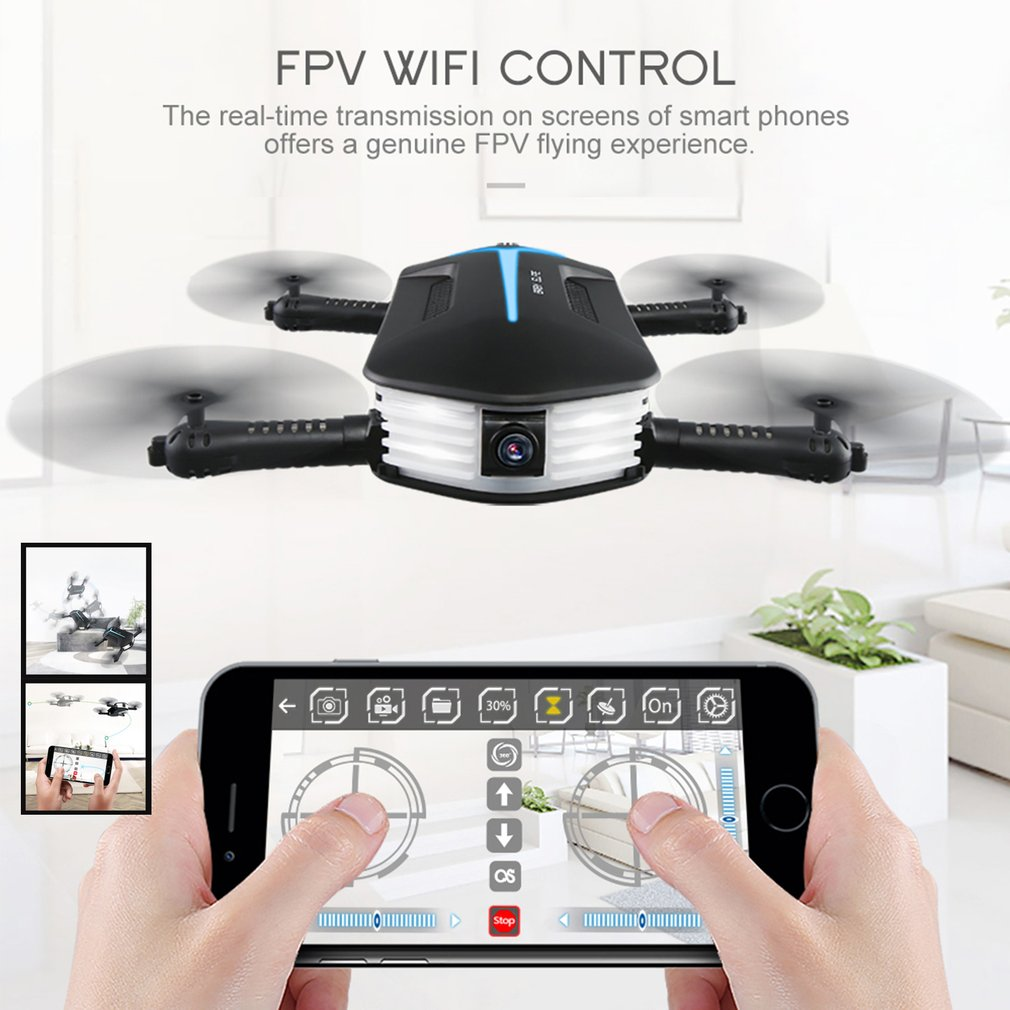 JJRC H37 ELFIE Mini Drone with 3 Batteries 720P camera hd Wi-Fi FPV Foldable RC Quadcopter Selfie remote control Helicopter toys 2017 new jjrc h37 mini selfie rc drones with hd camera elfie pocket gyro quadcopter wifi phone control fpv helicopter toys gift page 7
