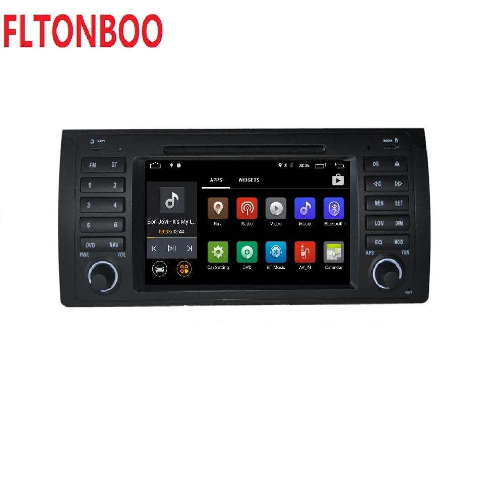 Android 8.1 pour bmw E39, X5, M5, E53 dvd de voiture, navigation gps, wifi, radio, bluetooth, cache de volant Canbus Livraison 8g carte, micro, écran tactile - 2