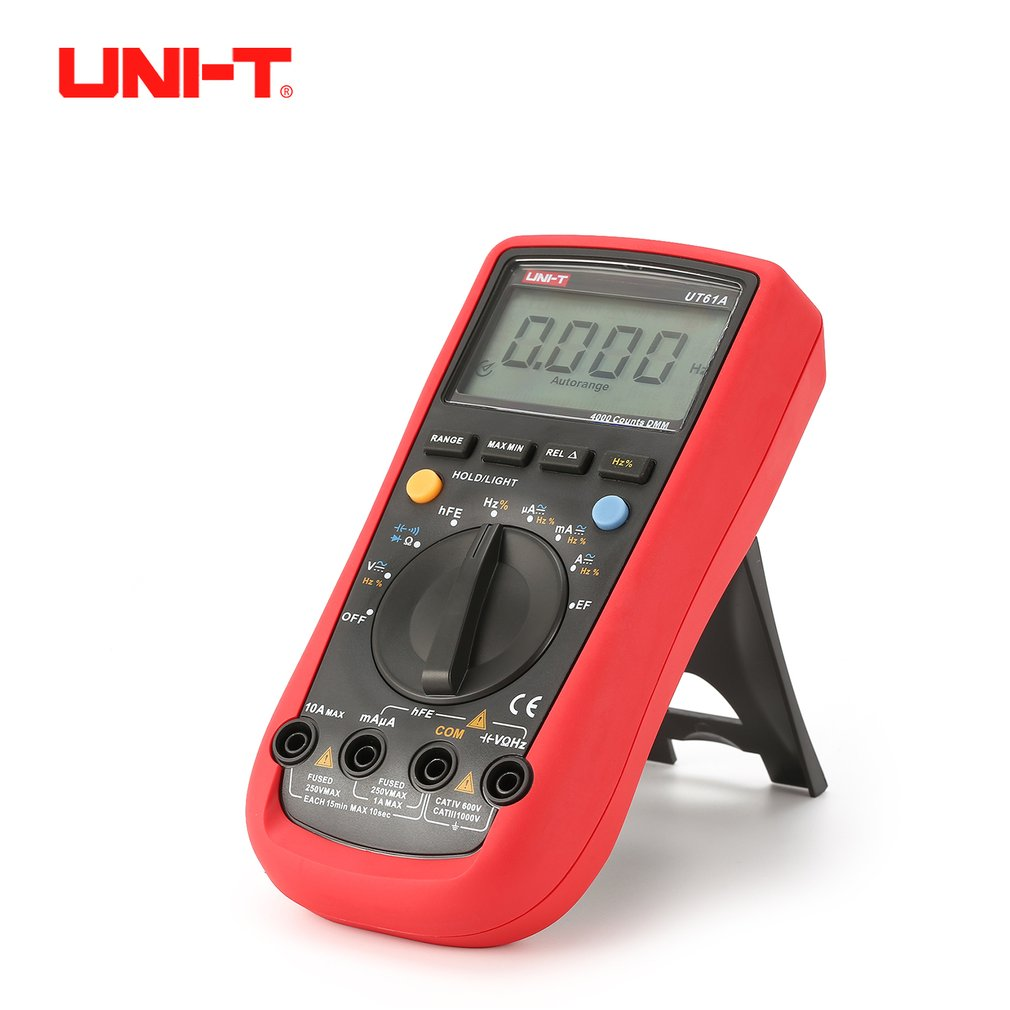UNI-T UT61A UT61B UT61C UT61D UT61E Digital Multimeter true rms AC DC Meter Software CD Data Hold Counts Voltage Current Sale uni t ut61a ut61b ut61c ut61d ut61e digital multimeter ture rms dmm ac dc meter data hold multitester electrical instruments