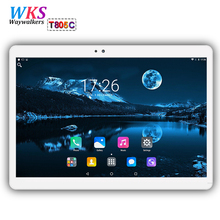 Free shipping 10 inch tablet PC Android 7.0 Phone call octa core RAM 4GB ROM 64GB 1920×1200 IPS Dual SIM Children's Tablet PC