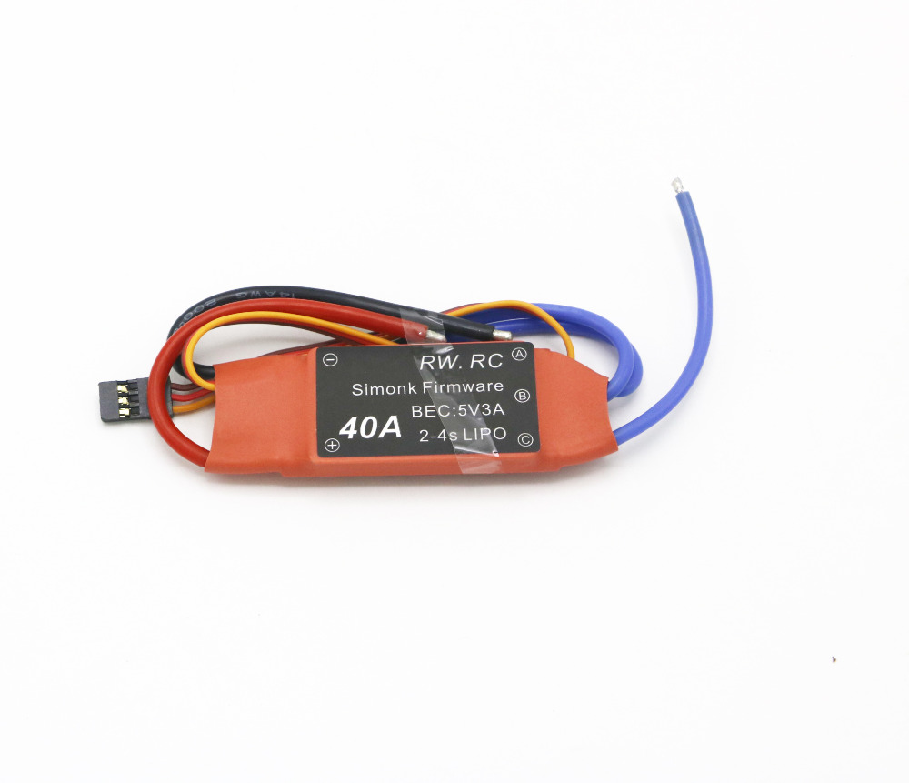 Simonk Firmware 10A/12A/15A /20A /30A /40A /50A /70A /80A Electronic Speed Controller ESC for RC Multicopter Helicopter