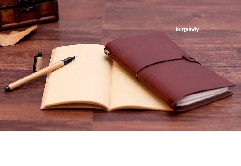 Traveler's Notebook Dnevnik Refill Zamjenjiva kravlja koža umetnuti - Bilježnice i dnevnici - Foto 3