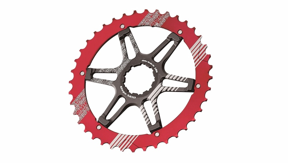 FOURIERS CR-DX008-SK3 bike Sprocket heat treated Chainring Chain guard 40/42T for 10 speed bicycle cassettes: XT R, XT fouriers cr dx9000 ov oval bicycle chainrings for xt r m9000 m9020 11 speed mountain bike crank with crank cover caps page 8