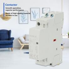 2P Contactor 16A 220V/230V AC Contactor 1NO 1NC 50/60HZ Din Rail Household AC Contactor new lc1d205m7c tesys d contactor 205a ac 220v 50 60hz lc1 d205m7c