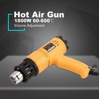 1800W Hot Air Gun Thermostat Heat Gun Hot Air Blower Shrink Wrapping Thermal power tool Soldering Gun Heat Air Gun