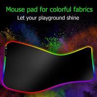 עבור מחשב VODOOL RGB USB Gaming Mouse Pad RGB הזוהר רחב ממדי משטח עכבר מקלדת צבעונית התאורה גיימינג Mat עבור מחשב נייד חדש שולחני (5)