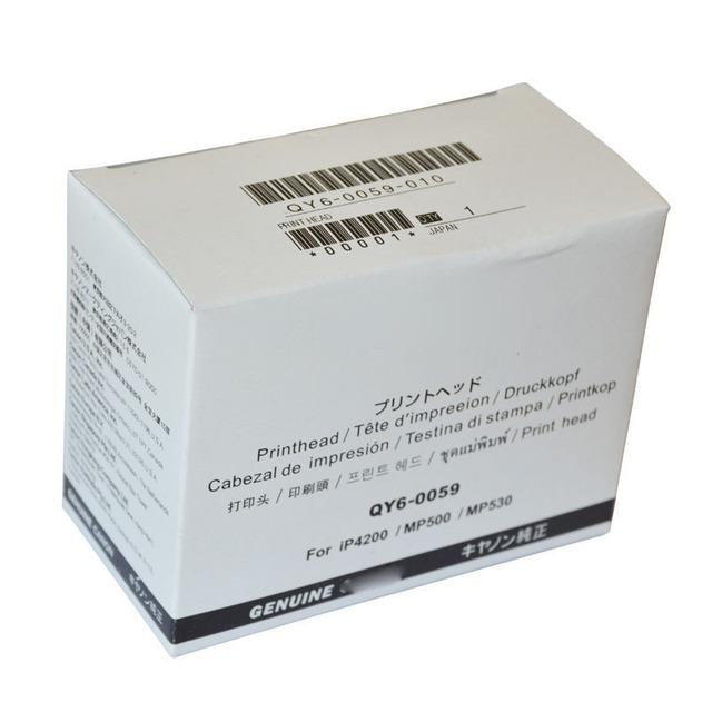 Genuína qy6 0059 qy6-0059 da cabeça de impressão da cabeça de impressão para canon ip4200 mp500 mp530