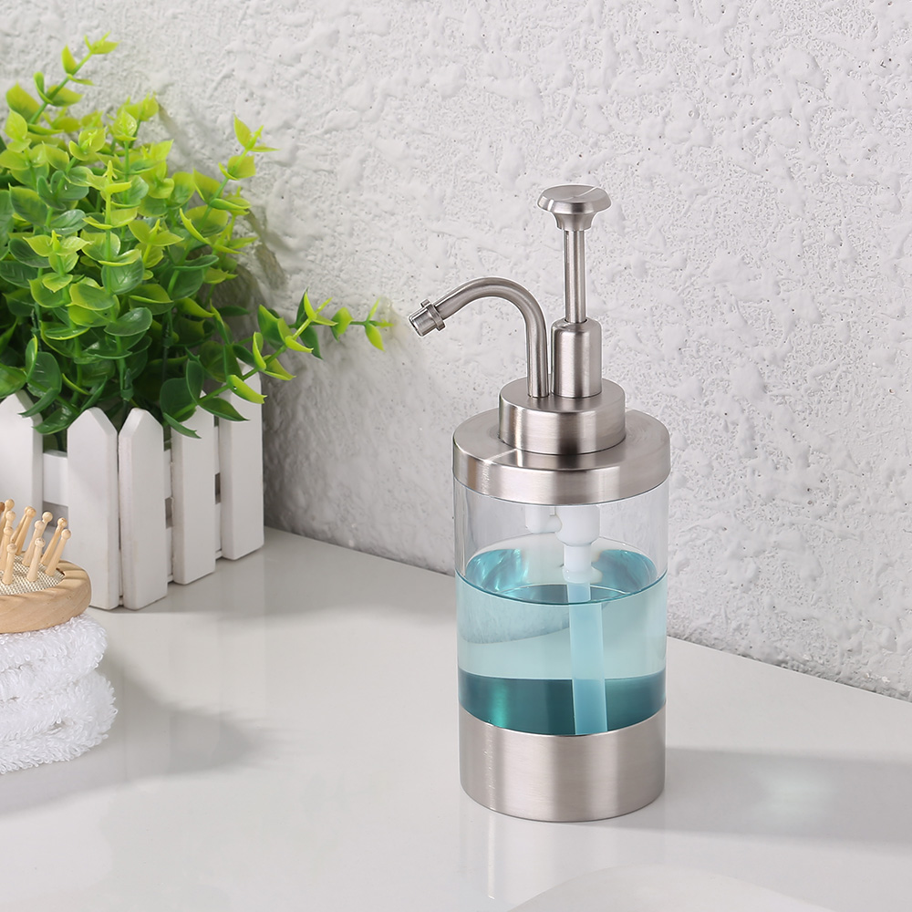 kes lotion/soap dispenser for kitchen or bathroom