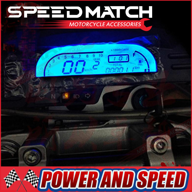 125cc 150cc 200cc 250cc CQR T4 MX6 Motorcycle jialing accessories Odometer Speedometer digital LED screem speedo meter бра cl418321 citilux
