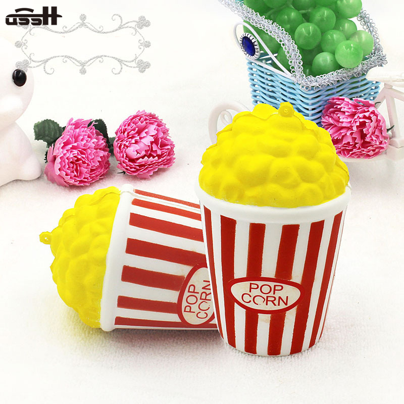 Slow Rebound Squishy New Product Simulate Popcorn Fake Food Model To Decompress Squeeze Anti-stress Kids Adult Toy Crafts Gift