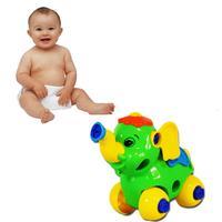 Christmas Gift Disassembly Elephant Car Design Educational toys for children Levert Dropship