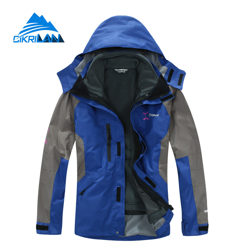 Hot Sale Winter 3in1 Hiking Manteau Homme Water Resistant