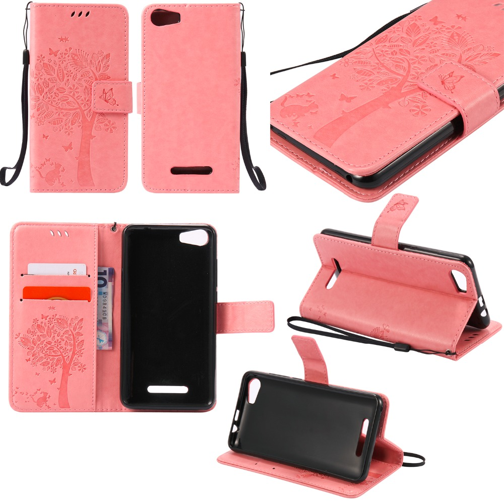 Fundas Flip Case for wiko lenny 2 PU Leather + Silicon Wallet Cover Phone Case for wiko lenny2 5.0 Capa with Stand Card Hold
