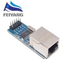 1 шт. ENC28J60 SPI интерфейс сетевой модуль Ethernet модуль (мини версия)