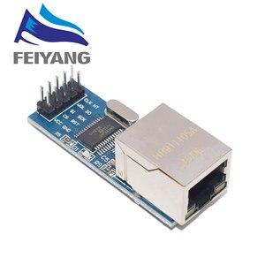 Image 1 - 1pcs ENC28J60 SPI interface network module Ethernet module (mini version)