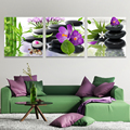 3 Piece Oil Pictures Flowers Painting On Canvas Wall Cheap Modern Art Paintings Hd Print Cuadros Decoracion Picture No Frame