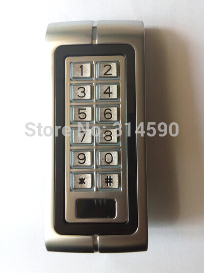 10pcs ID Card Tag + Metal RIFD Standalone Access Control / metal Keypad access control 125Khz Rfid Card access control machine proximity rfid 125khz em id card access control keypad standalone access controler 2pcs mother card 10pcs id tags min 5pcs