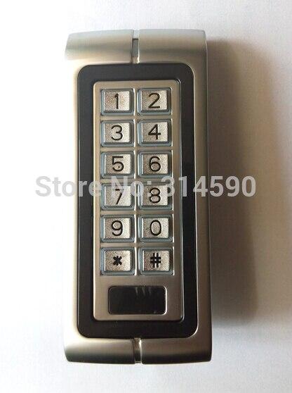 10 pcs ID Carte Tag + Métal PAR RFID Autonome de Contrôle D'accès/métal Clavier de contrôle d'accès 125 Khz Rfid Carte de contrôle d'accès machine