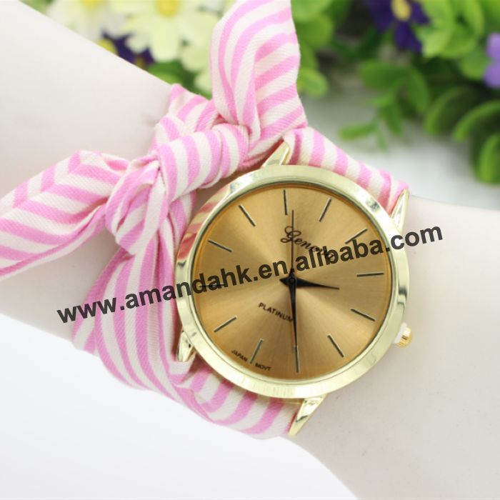 aeproduct band watches hf quartz cloth rose relojes watch s item analog geneva de women wrist fashion getsubject