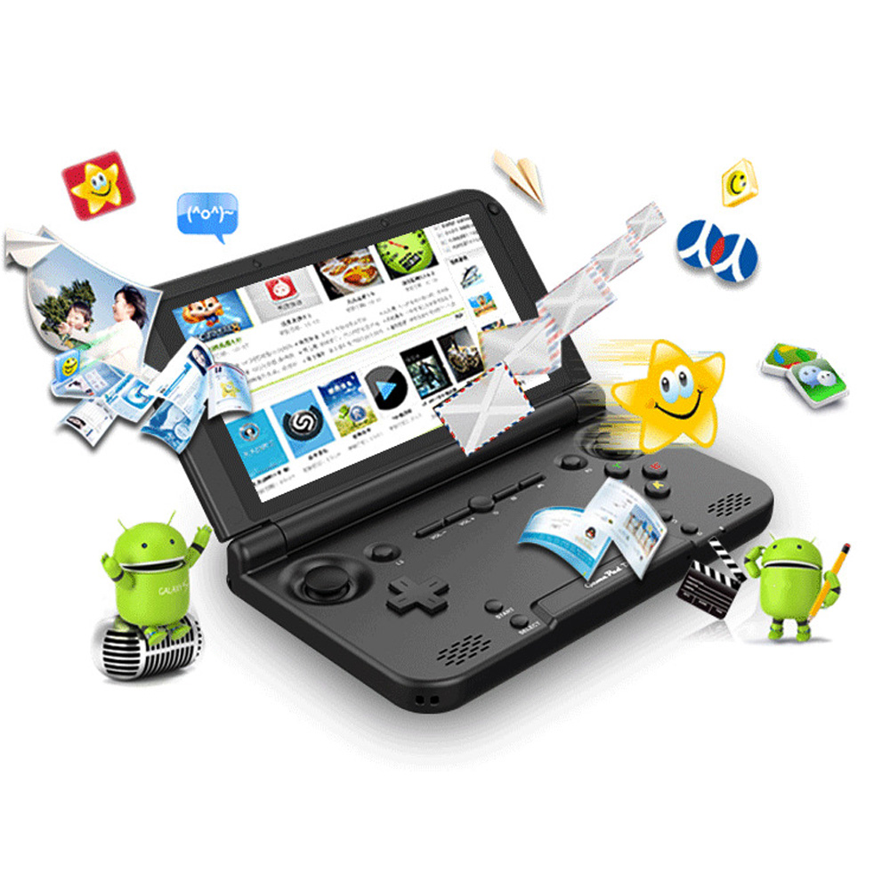 XD Plus Sem Fio Bluetooth Handheld Game Console GPD 5 polegada Android 7.0 sistema 4 GB/32 GB 4K para Android TV BOX PC do Jogo De Vídeo