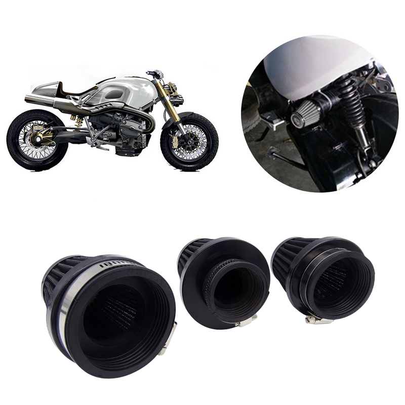 Image 2 - 1 Pcs 35mm 39mm 48mm 54mm 60mm Universal Motorcycle Air Filter Cleaner Air Pod for Honda Yamaha Harley Cafe Scooter Filter-in Air Filters & Systems from Automobiles & Motorcycles