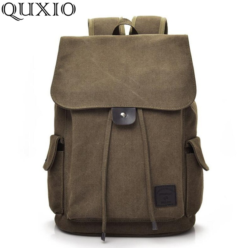 Vintage Style Women Men Backpacks High Quality Canvas School Bags Backpacks Brand Designer Fashion Travel Bag Casual Hb110