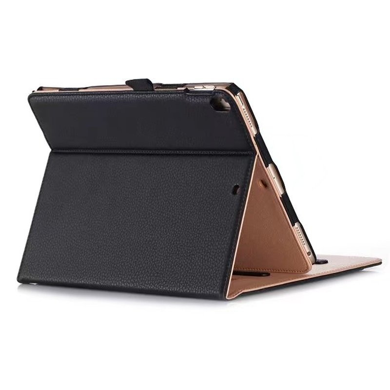 Premium PU Leather Case Smart Cover for New iPad 2017 10.5 Stand Case with Hand Strap for iPad Pro 10.5 Case + Stylus Pen Pocket silicone charging stand anti lost cap cover for ipad pro pencil touch stylus pen l059 new hot