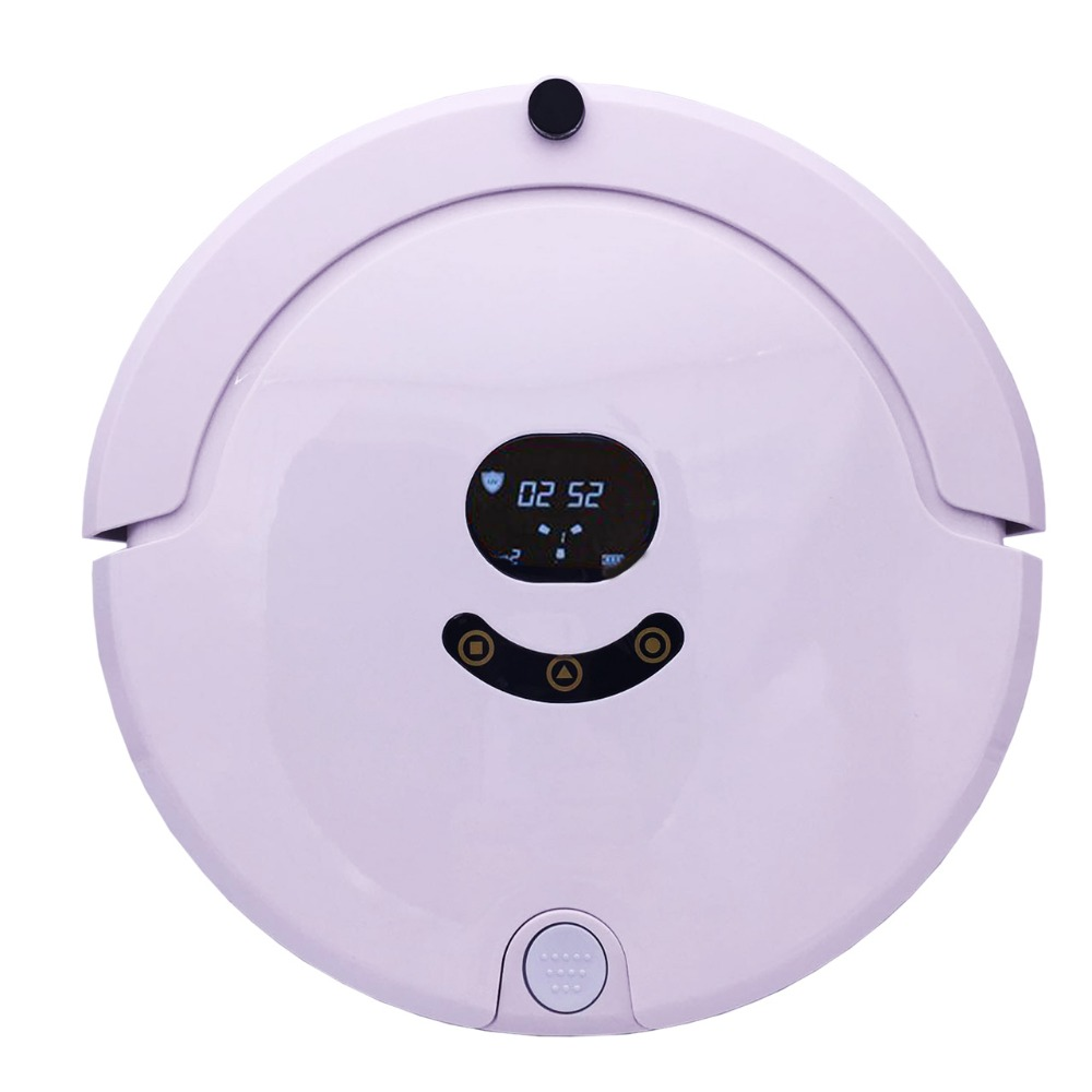 FR-Smile508 Robot Vacuum Cleaner House <font><b>Carpet</b></font> Floor Anti Collision Anti Fall,Self Charge,Remote Control,Auto Clean,Time schedule