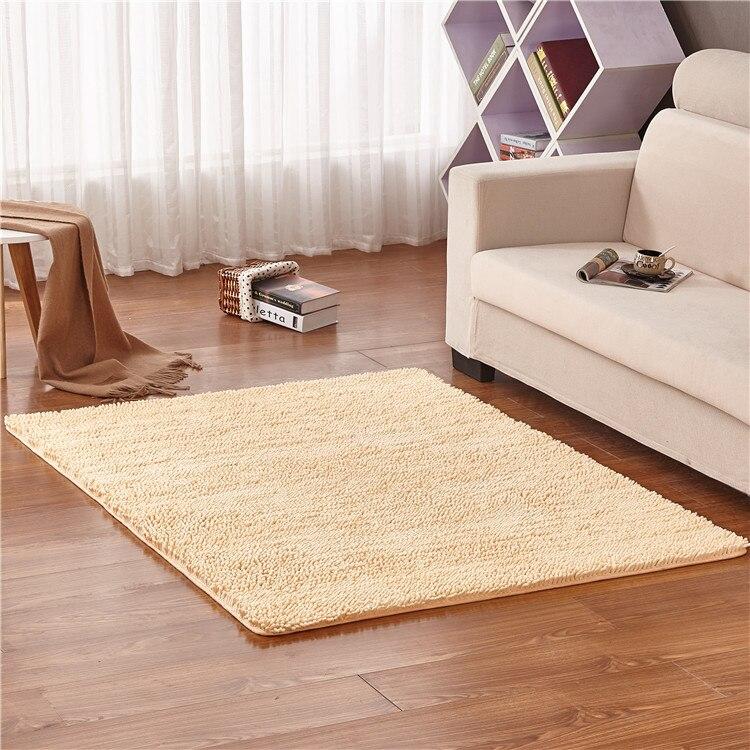 Zeegle синель большие ковры для Гостиная Кофе таблица коврик против скольжения коврики Спальня прикроватные коврики Ванная комната для ванны ...