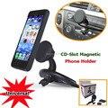 Универсальный GPS Мобильный Телефон Магнитный Автомобиль CD Слот Крепление для iPhone 6 7 плюс Samsung S5 S6 Xiaomi Смартфон Магнит CD Рот держатель