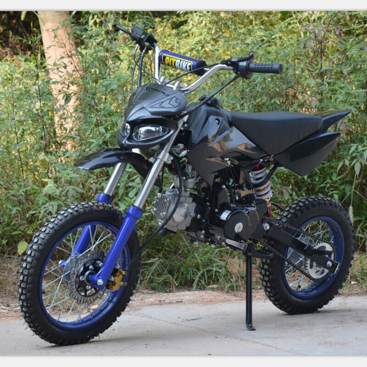 Mini Dirt Bike Around Off Road Vehicle 110cc Motorcycle Power