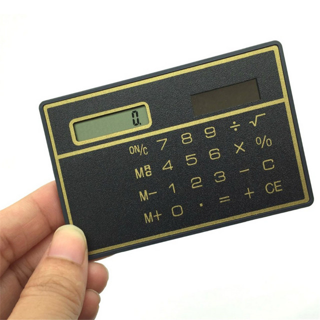 Ultra-thin Mini Calculator