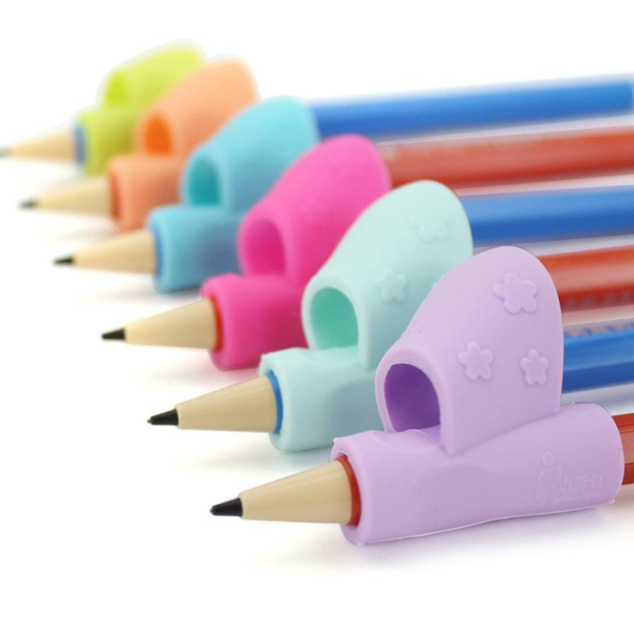 3PCS/Set Children Pencil Holder Pen Writing Aid Grip Posture Correction Tool New Levert dropship 2JUL20