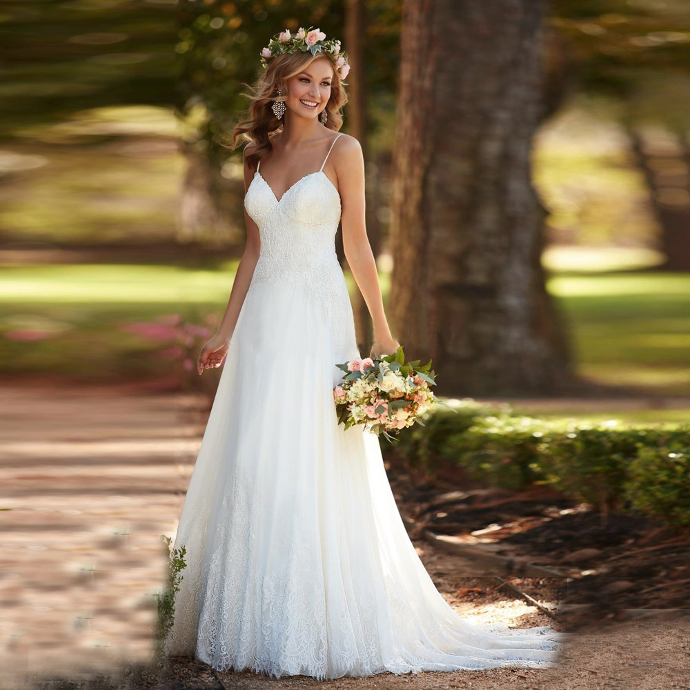 beach wedding dresses cheap Sexy Beach Wedding Dresses