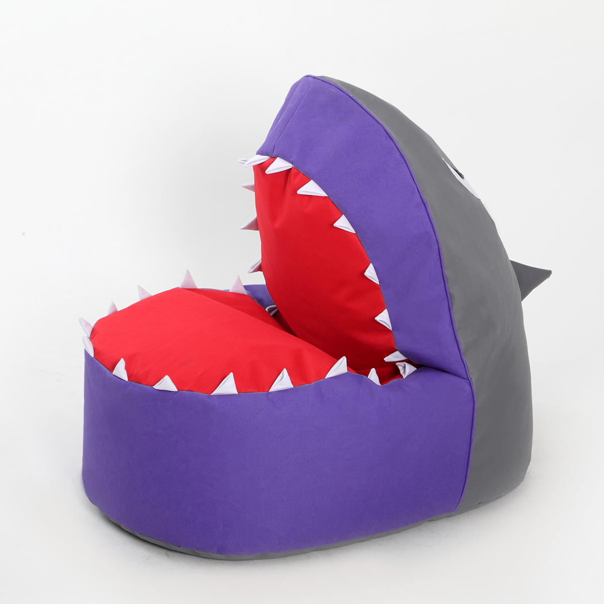 Leisure bean bag chair Sofa children single chair Cartoon Art Shark Lazy Sofa Creative Chair Bed Couch Couch Rice Animal Seat-in Baby Seats u0026 Sofa from ... & Leisure bean bag chair Sofa children single chair Cartoon Art Shark ...
