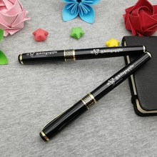 For VIP customers Free logo heavy writing pen 50g/pc nice quality rollerball custom engrave with your text and phone free