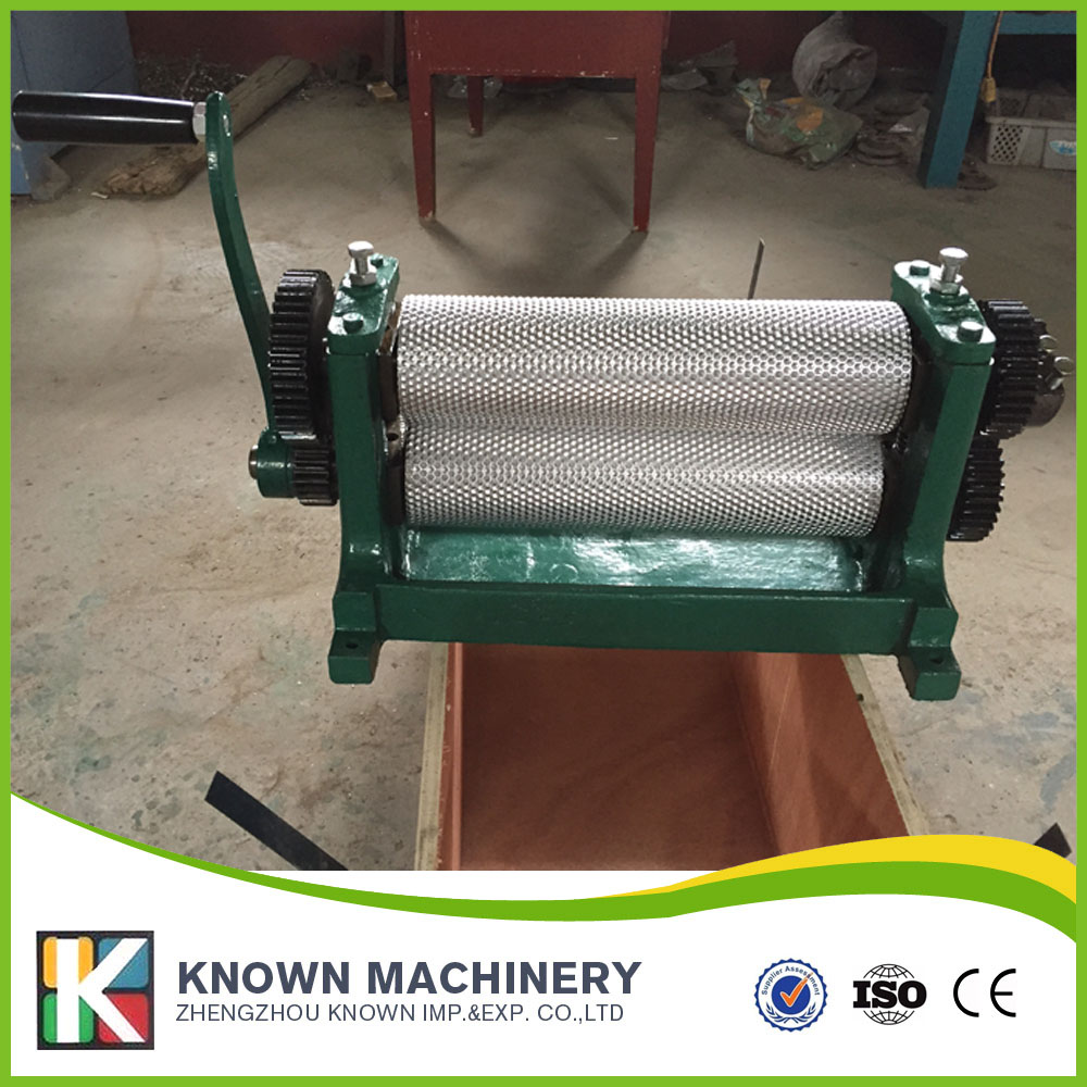 195/250/310*86mm Aluminum alloy manual beeswax foundation machine / embossing bee wax machine electric motor beeswax comb foundation machine 86 250mm