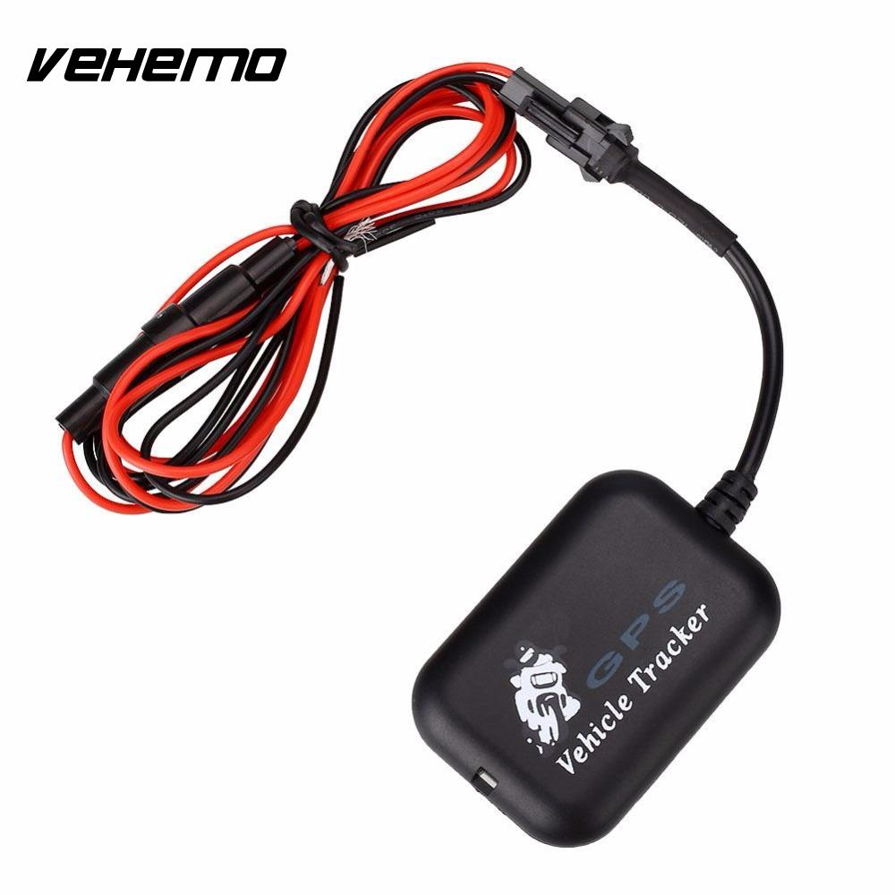 Vehemo Professional Car Motorcycle Global GPS Tracker Locator Tracking Anti-theft