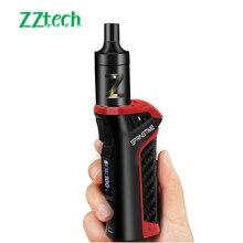 Elektroniczne papierosy waporyzator Power 0.5ohm 2.5ml Atomizer 20W 100W e papieros wiosna czas 18650mAh Box Mod Kit szisza Vaper