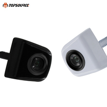 TOPSOURCE HD Auto Car Back up Camera rearview Metal CCD angle Backup cam Parking Reverse rear view Camera For CAR Monitor GPS