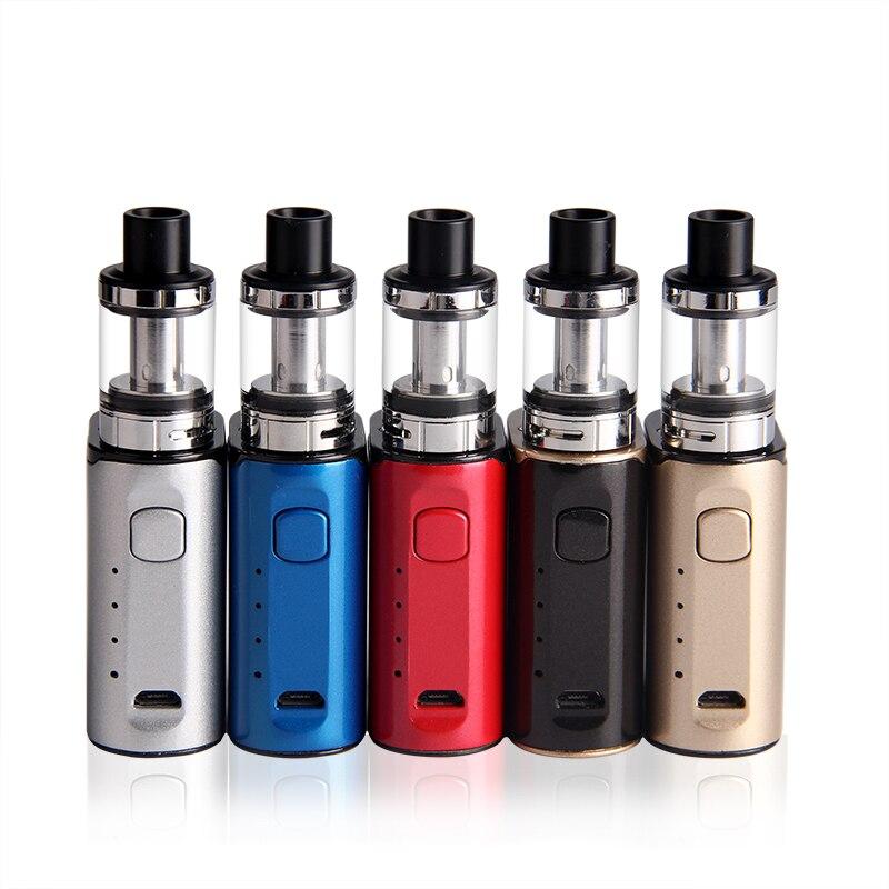 ECT C40 Mini Elektronische Zigarette kit Top Füllen Elfin 2 ml Zerstäuber Eingebaute 1800 mAh Batterie Vape Verdampfer E-zigaretten