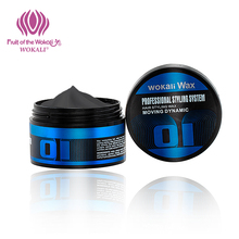 WOKALI Fashion ladies hair wax fluffy modeling Hair care Long lasting stereotype Hair gel 100g