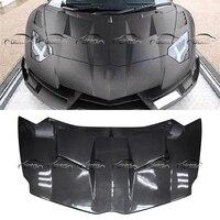 for Mansory Style Carbon Fiber Engine Cover Bonnet Hood for Lamborghini LP700 720 750